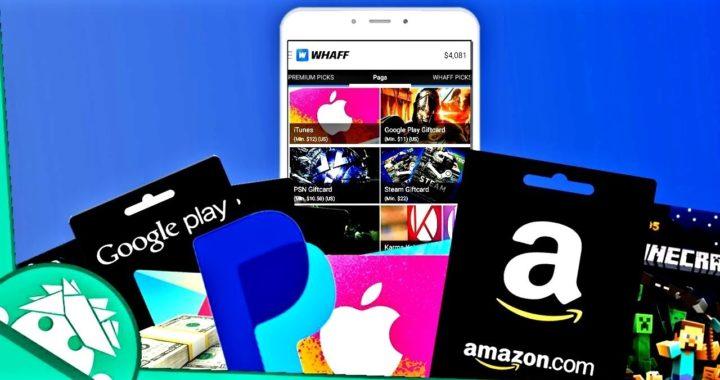 Ganar Dinero Para Paypal Desde Android Gift Cards - Amazon, Dinero Google Play, Steam, Lol...