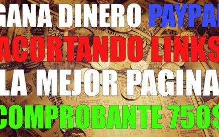 GANAR DINERO POR INTERNET 750$ ACORTANDO LINKS   MEJOR MÉTODO DE TODOS