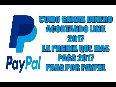 GANAR DINERO POR INTERNET ACORTANDO LINK 2017 [ EL MEJOR ACORTADOR] [PAGA POR PAYPAL]