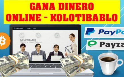 Ganar dinero por internet kolotibablo