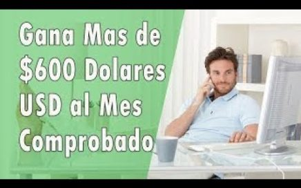 GANAR DINERO por INTERNET Sin Invertir Nada 2017 Rápido y Fácil 100% Comprobado1