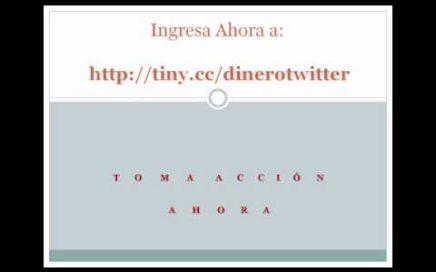 Ganar Dinero Twitter | Gane Dinero Rapido