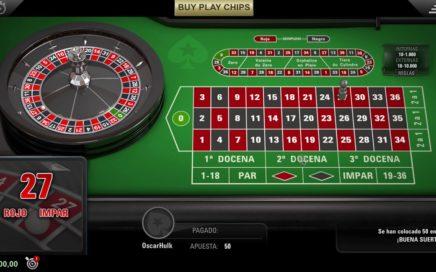 Ganar siempre a la ruleta online : Técnica 2