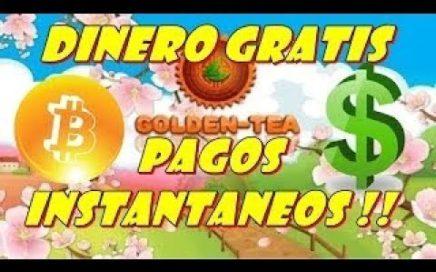 Golden Tea Paga, comprobante de pago! gana dinero en Internet! 2017 y próximo 2018