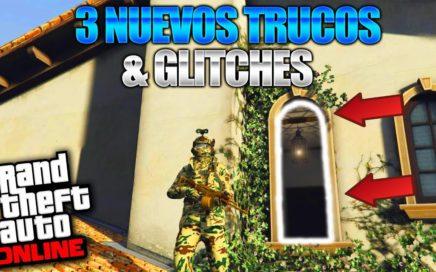 GTA 5 Online - 3 NUEVO TRUCOS & GLITCHES 1.41! (Abrir Ventana de Micheal, Modo Borracho & Mas!)