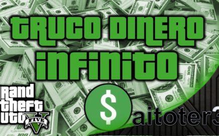 GTA 5 Online PC   COMO GANAR DINERO INFINITO   super facil, sin baneo   TRUCOS GTA 5 #1   aitoter3