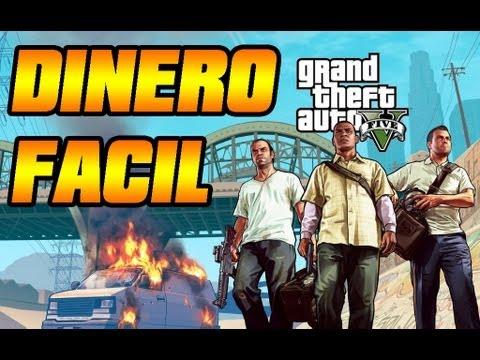GTA V - Como Ganar Mucho Dinero, Fácil y Rápido En Grand Theft Auto V - GTA 5