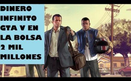 GTA V GANAR DINERO FACIL 2 MIL MILLONES DE DOLARES EN LA BOLSA 100% GANANCIAS PS4/PS3/XBOX360/XONE
