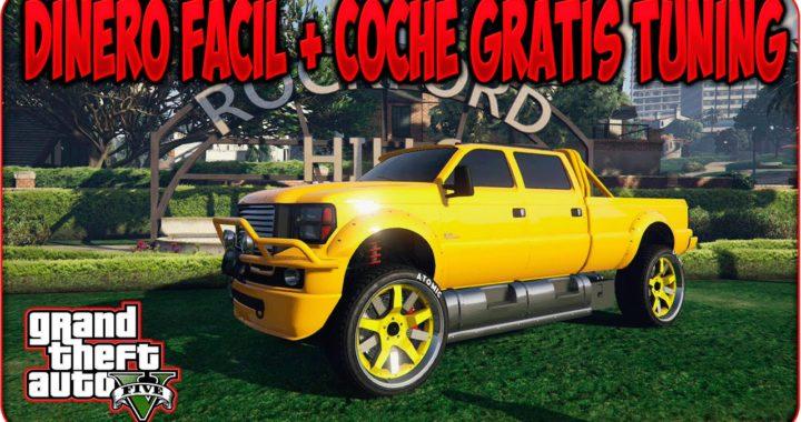 GTA V Online COCHE TUNING GRATIS + GANAR DINERO FACIL - GTA 5 Online