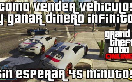 GTA V Online - Como vender vehículos y ganar dinero infinito sin esperar 45 minutos