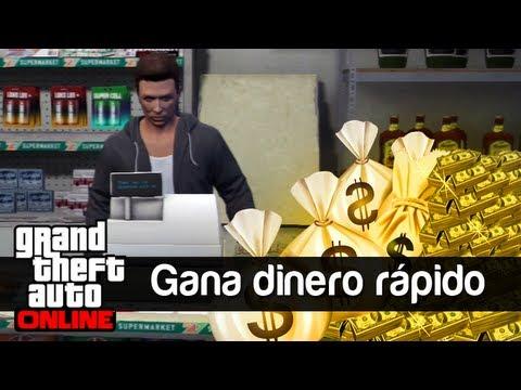 GTA V Online: Gana Dinero fácil y rápido