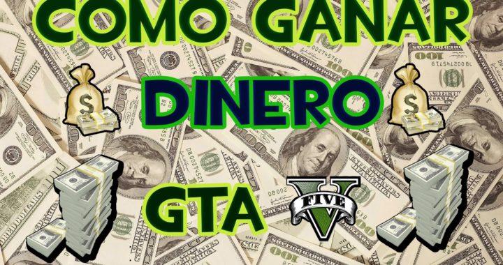 GTA V ONLINE PS4:COMO GANAR MUCHO DINERO EN GTA 5 ONLINE/5 FORMAS DE GANAR DINERO GTA V SIN TRUCOS