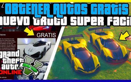 """INCREIBLE!! OBTENER AUTOS COMPLETAMENTE GRATIS EN """"GTA V ONLINE"""" NUEVO METODO [ PS4 - XBOX ONE ]"""