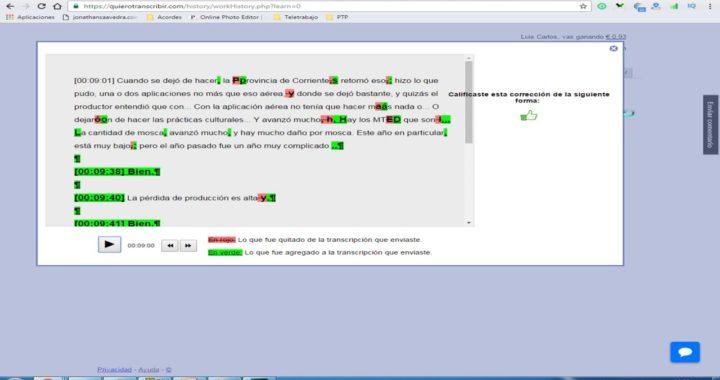 La Mejor Forma De Ganar Dinero Online/ Transcribiendo Textos/Sin Invertir