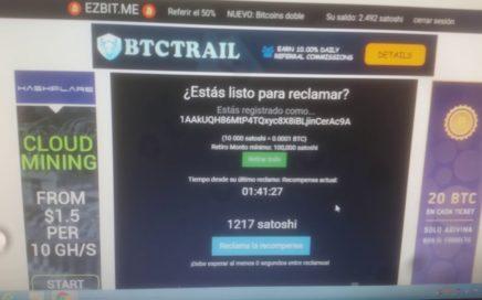 LA MEJOR PAGINA PARA GANAR DINERO EN  BITCOIN  EN AUTOMATICO GRATIS