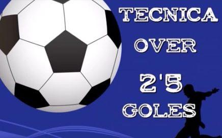 la mejor tecnica over 2.5 goles, ganar dinero con el futbol (mijalaki bet soccer)