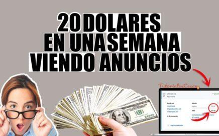 LAS DOS MEJORES PTC PARA GANAR 20 DOLARES EN MENOS DE UNA SEMANA | PRUEBA DE PAGO 24$ DOLARES