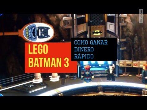 LEGO BATMAN 3 como ganar dinero fácil y rápido