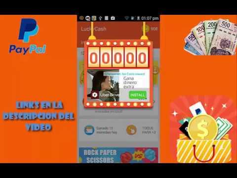 Lucky Cash APP Para Ganar Dinero Paypal + TRUCO DE BAJAR LAS APPS