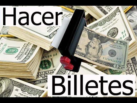 Máquina para hacer billetes Truco de Magia Ganar dinero fácil