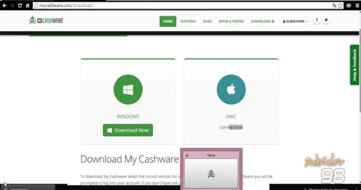 My CashWare    Gana Dinero por tener el Pc Encendido