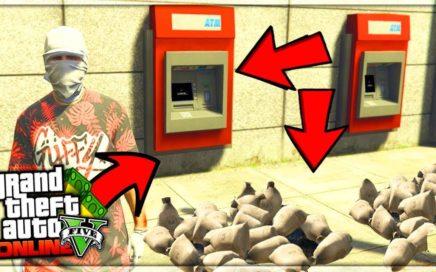 NO ME LO CREO! COMO CONSEGUIR ROBAR BANCOS EN GTA 5 ONLINE?! [MILLONARIO EN SEGUNDOS!]