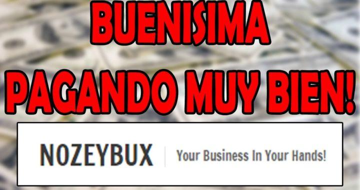 NOZEYBUX! PAGANDO INCREIBLE! GANAR DINERO A PAYPAL 2017