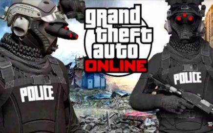 ¡NUEVO CONJUNTO MODEADO SIN HACKS! POLICIA FUTURISTA GTA 5 ONLINE 1.41