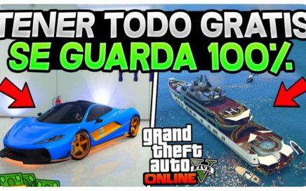 *NUEVO* TENER TODO GRATIS EN GTA 5 ONLINE! (SE GUARDA TODO) PS4 , XBOX Y PC