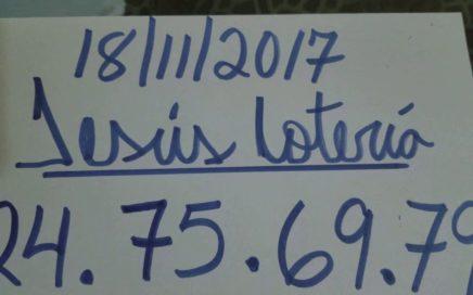 NÚMEROS PARA HOY 18/11/17 DE NOVIEMBRE PARA TODAS LAS LOTERÍAS !!!