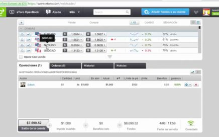 Operar Forex Con Etoro | Ganar Dinero Online