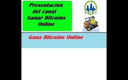 Presentación del canal de como Ganar dinero gratis con derrota la Crisis   Ganar Bitcoins Online