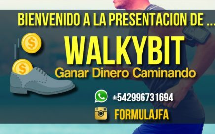 Presentación WalkyBit Gana Dinero Caminando por Jonathan Ferreyra