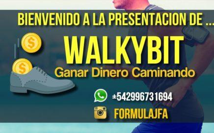 Presentacion WalkyBit Gana Dinero Caminando por JonathanFerreyra
