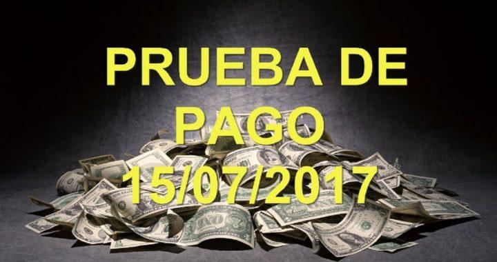 PRUEBA DE PAGO 15/07/2017 | GANA DINERO ONLINE
