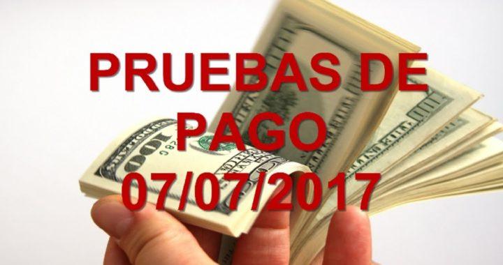 PRUEBAS DE PAGO 07/07/2017 | GANA DINERO ONLINE