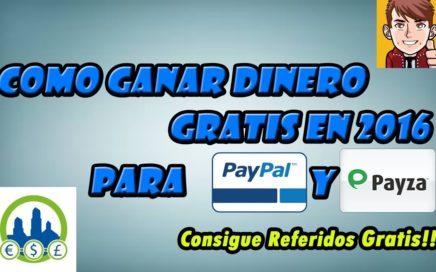 ¿Que Es Ganancias Online?: Como Ganar Dinero Por Internet Para Paypal   ¡Consigue Referidos GRATIS!