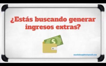 ¿Querés generar o ganar Dinero Extra?