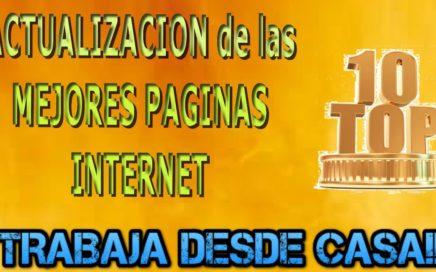 Ranking Actualizado, las 10 Mejores Paginas Ganar Dinero en Internet desde Casa | Derrota la Crisis