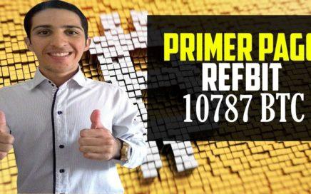 Refbit Primer Pago[10787 BTC] Gana Bitcoin con Anuncios de Publicidad. Minar