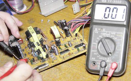 Reparación de fuentes de PC. Muy fácil y muy rápido. Gana dinero reparando.