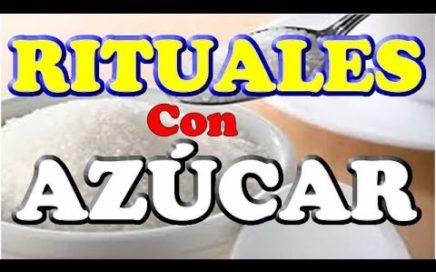 RITUALES con AZÚCAR, para el DINERO Rápido, Te enseño 4 formas de atraer DINERO, !! TRUCO sencillo !