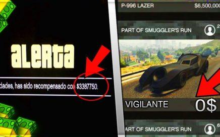 ROCKSTAR REGALA DINERO SI HACES ESTO GTA 5 ONLINE DINERO GRATIS 1.41