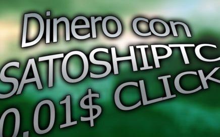 Satoshiptc Gana dinero online anuncios de 0.01$ I 2016