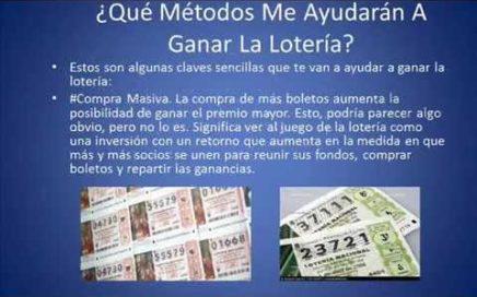 sistema ganar la loteria-como ganar dinero extra