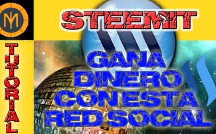 Steemit Tutorial | Gana dinero con esta red social | Registro y primer post | Parte #1