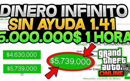 TENER DINERO INFINITO *SOLO* SIN AYUDA (FUNCIONA) +$5,000,000 EN 1 HORA!