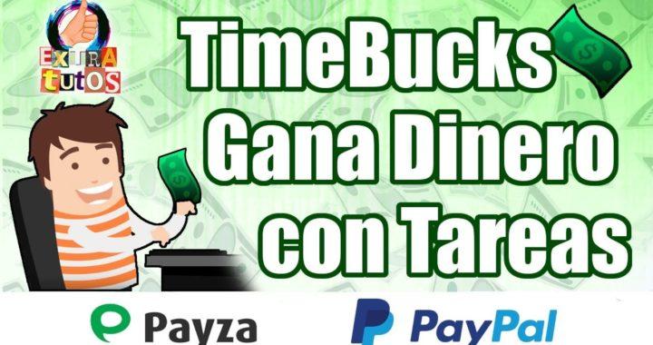 TimeBucks | Gana Dinero Haciendo Tareas | Como Ganar Dinero Fácil por Internet | Guía para Empezar