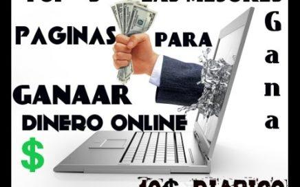 Top 5  Las mejores paginas (PTC) para ganar dinero desde su casa facil y gratis