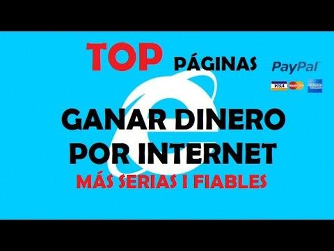 Top 6 Mejores Páginas Para Ganar Dinero 2016 | Ganar Dinero Por Internet | Ganar Dinero Para Paypal